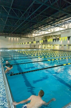 Swimming pool in ASU recreation center
