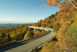 Blue Ridge Parkway near ASU