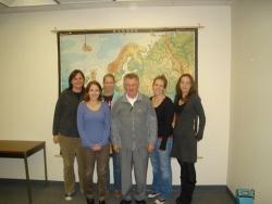 ASU poli sci grad studenets with Dr Longin Pastusiak