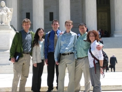 ASU grad students in Washington DC